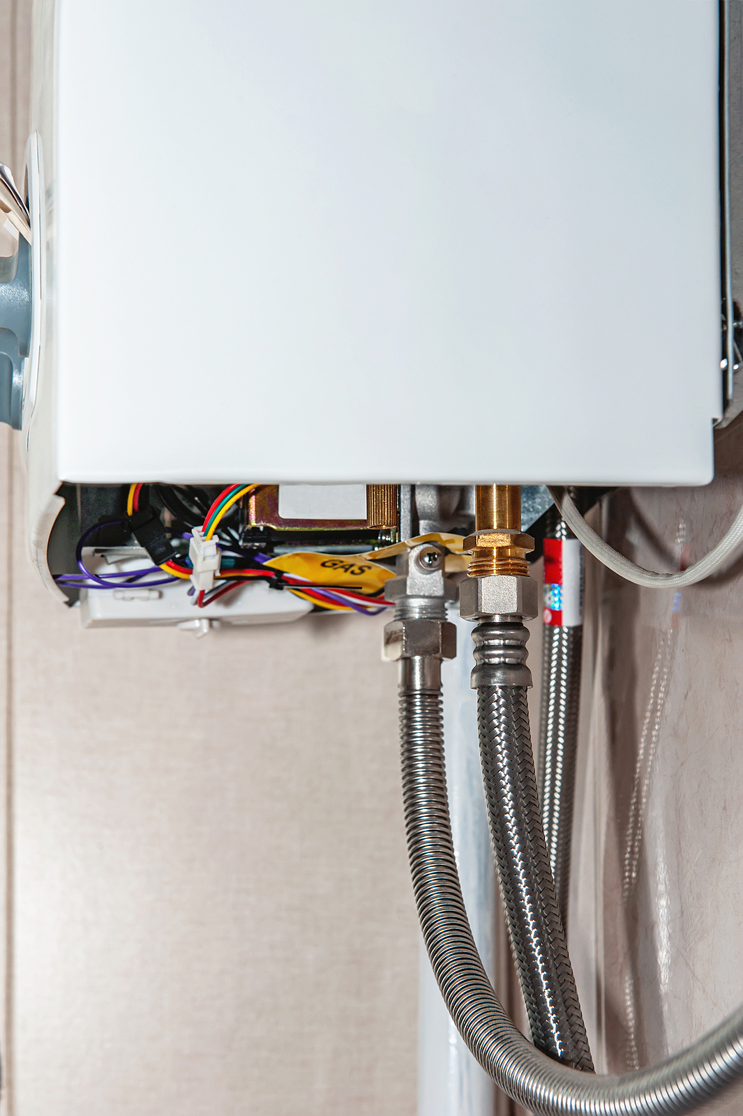 effective gas hot water system connection